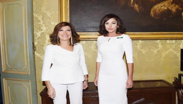 Azərbaycanın Birinci vitse-prezidenti İtaliya Senatının sədri ilə görüşüb