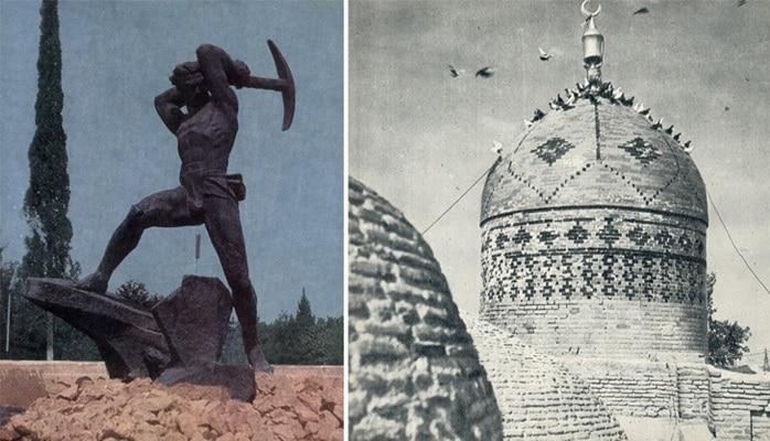 Памятники и архитектура Гянджи начала 1970-х (ФОТО)