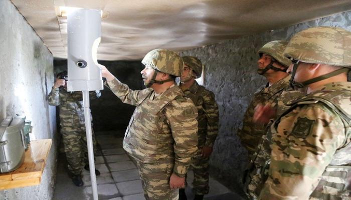 Закир Гасанов отправился в прифронтовую зону для наблюдения за учениями