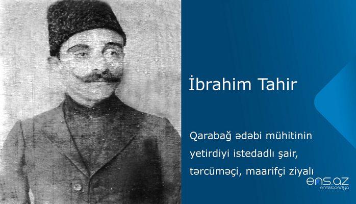 İbrahim Tahir