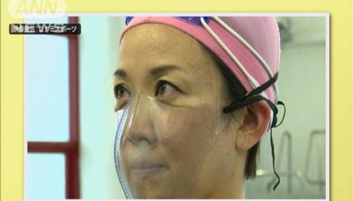 Hovuzda koronadan qoruyan maska hazırlandı - Satışı rekord qırır