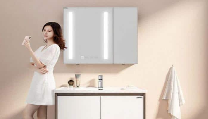 Xiaomi разработала «умный» шкафчик для ванной