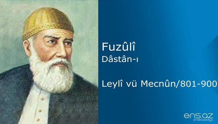 Fuzuli - Leyla ve Mecnun/801-900