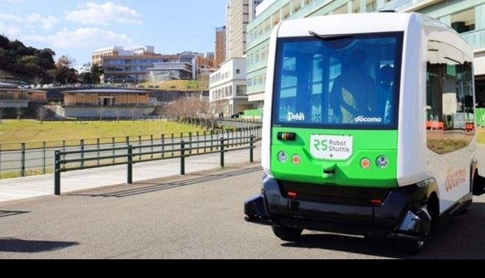 Qocalar üçün sürücüsüz avtobusların sınaqları keçirilir