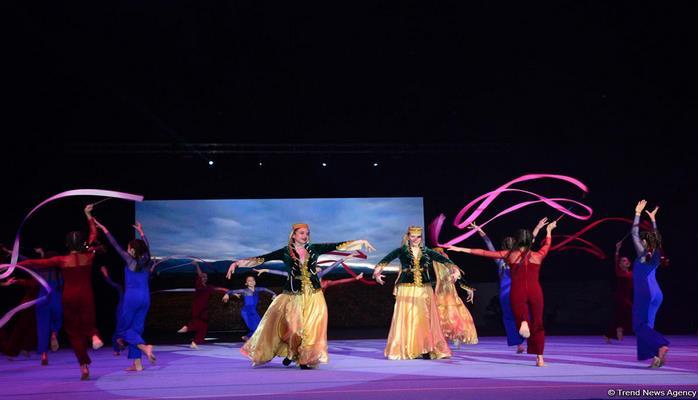 В Баку прошла церемония открытия Кубка мира по акробатической гимнастике