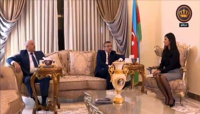 İordaniya Dövlət Televiziyasında Ulu Öndərin 95, Cümhuriyyətin 100 illiyi ilə bağlı veriliş yayımlanıb