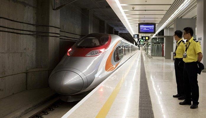 В Китае ввели в эксплуатацию скоростную железную дорогу Гуанчжоу-Гонконг