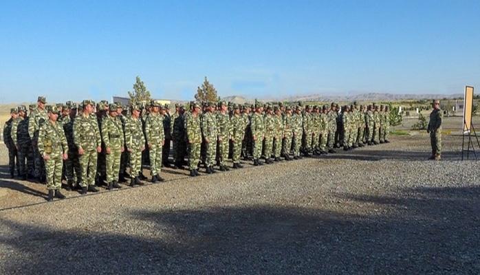Naxçıvanda komandir hazırlığı toplantısı keçirilib