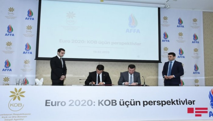KOBİA və AFFA arasında memorandum imzalanıb