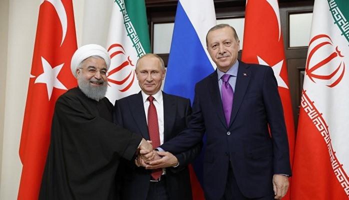 Президенты Турции, России и Ирана приняли декларацию Тегеранского саммита