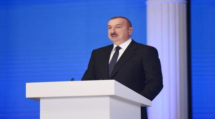 """İlham Əliyev Davosda Dünya İqtisadi Forumunun """"Strateji baxış: Avrasiya"""" konfransında"""