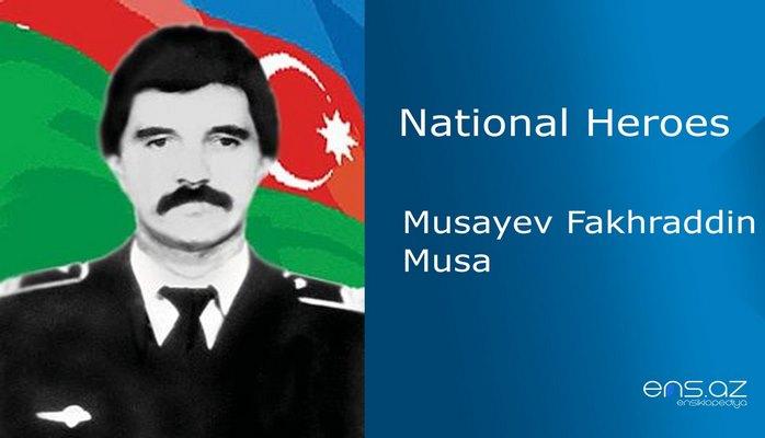 Musayev Fakhraddin Musa