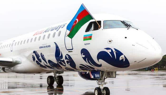 """""""Buta Airways"""" aviaşirkəti daha bir """"Embraer E-190"""" təyyarəsi alıb"""
