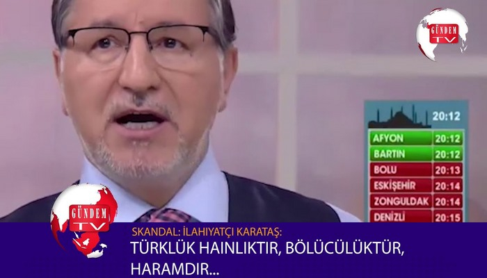 Türkiyəli ilahiyyatçı: Türklük xəyanət, separatizm, haramdır