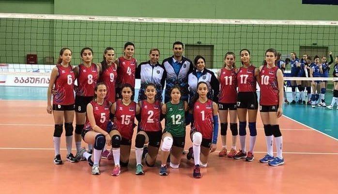 Сборная Азербайджана по волейболу среди девушек встретится с грузинками