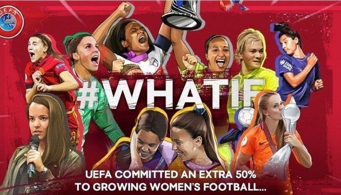 УЕФА увеличила финансирование на программы развития женского футбола на 50 процентов