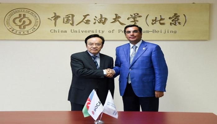 Бакинская Высшая школа нефти и Китайский нефтяной университет в Пекине заключили Соглашение о сотрудничестве