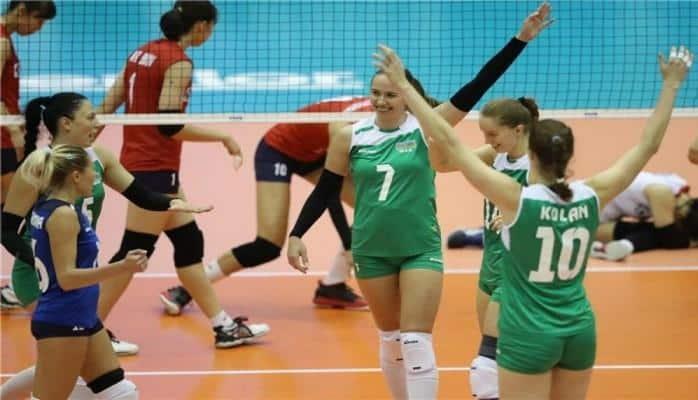 Азербайджанская женская сборная по волейболу одержала первую победу на чемпионате мира