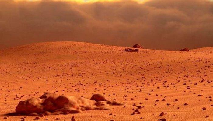 Mетеорит дает новые доказательства существования жизни на Марсе ·