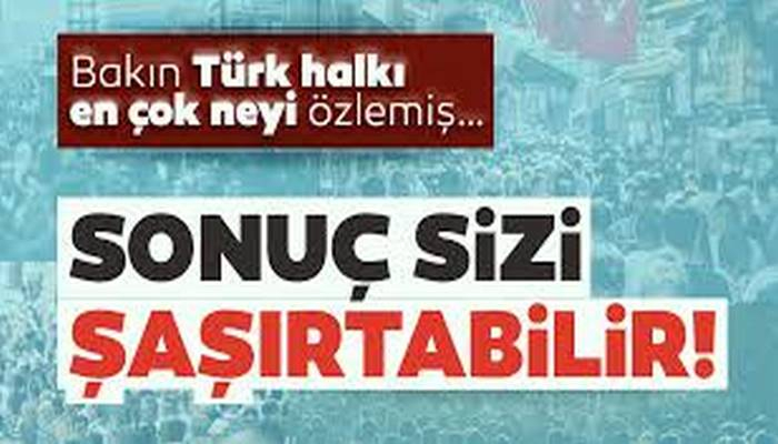 İşte Koronavirüs bitince Türk halkının yapacağı ilk şey!