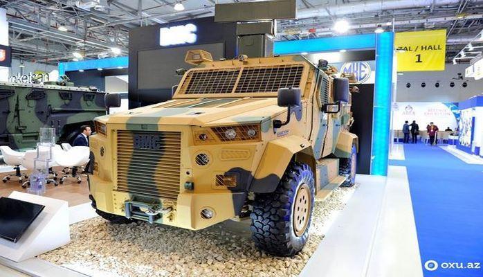 Азербайджан может закупить легендарные броневики BMC