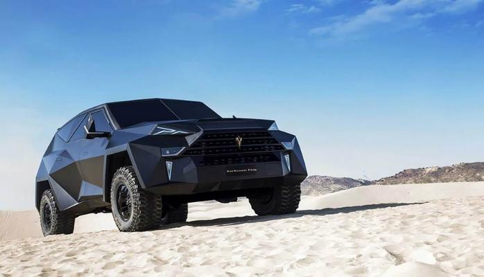Dünyanın ən bahalı yolsuzluq avtomobili Çində istehsal edildi