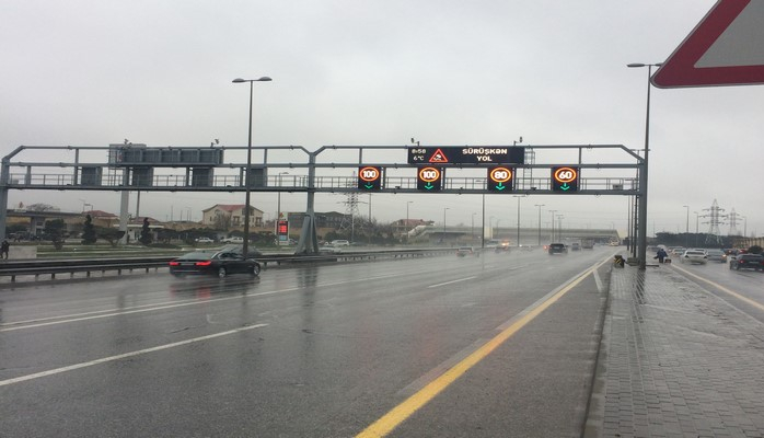 Максимальная скорость движения на автомагистрали проспект Гейдара Алиева - Аэропорт - Бильгя снижена