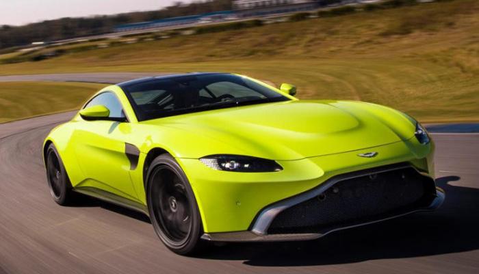 Aston Martin представила новый автомобиль Бонда