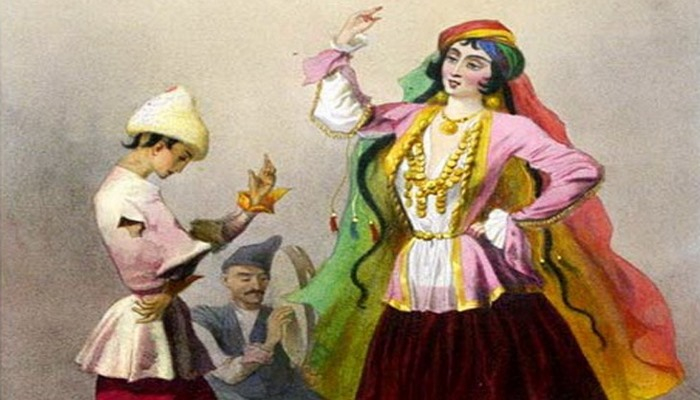 О плясках в древнем Азербайджане и шамахинских танцовщицах