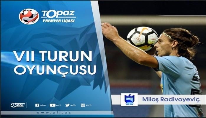 Azərbaycanda həftənin ən yaxşı futbolçusu açıqlanıb