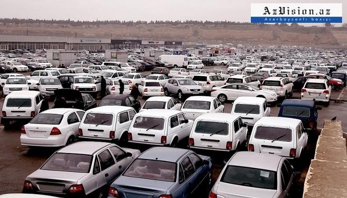 Bu il Azərbaycana 7978 maşın gətirilib