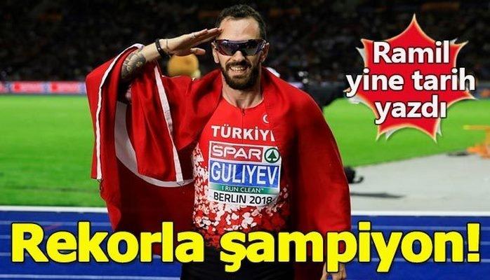 Avropa çempionu olan Azərbaycan əsilli Türk atlet Ramil Quliyev kimdir?