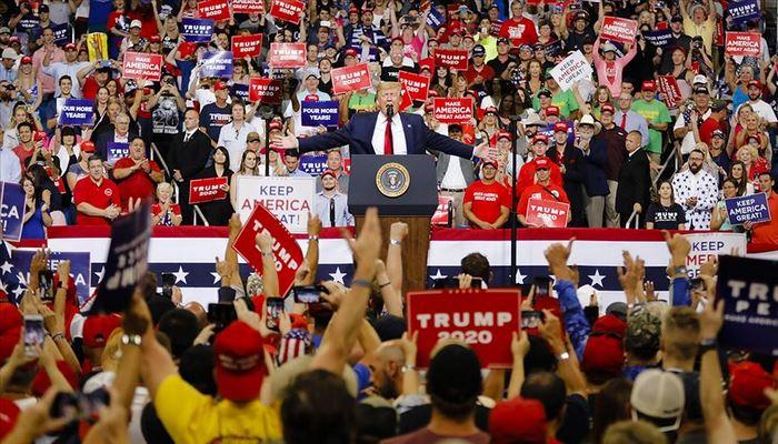 Trump 2020 seçim kampanyasını resmi olarak başlattı: Demokratlara giden her oy radikal sosyalizme verilen bir oydur