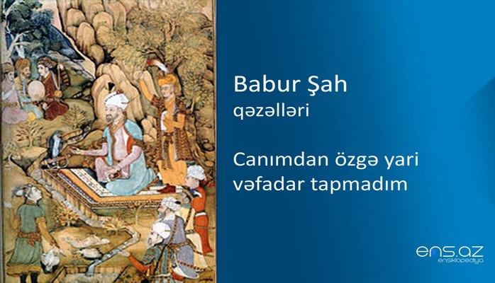 Babur Şah - Canımdan özgə yari vəfadar tapmadım