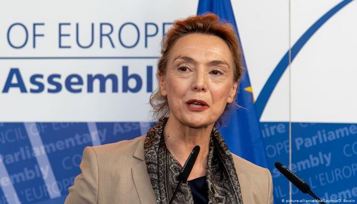 Avrupa Konseyi'ne Hırvat lider
