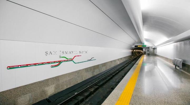 """Yayda """"Xətai"""" metro stansiyasında qatarlar ikitərəfli hərəkət edəcək"""