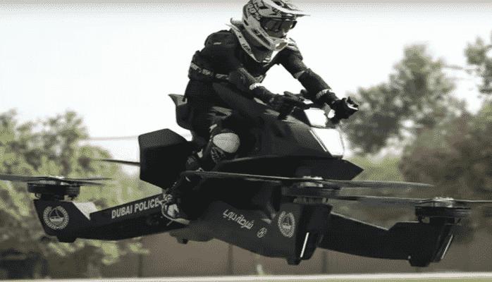 Полицейские Дубая будут работать на летающих мотоциклах