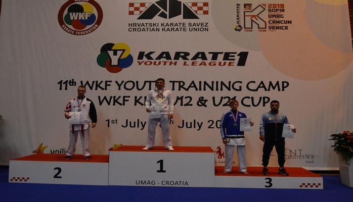Karateçilərimiz Xorvatiyada beynəlxalq turnirin ilk günündə iki medal qazandı