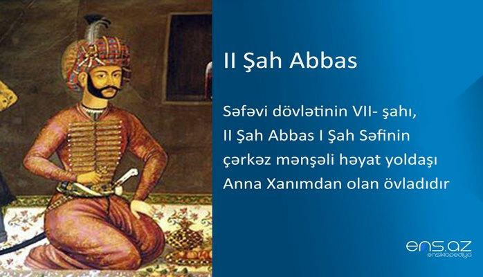 II Şah Abbas