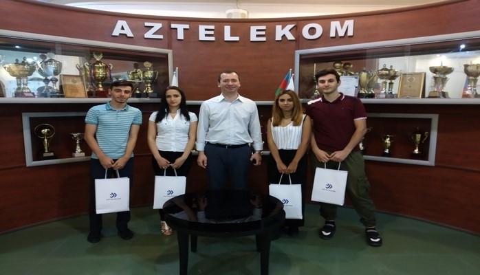 «Азтелеком» завершил программу «Летняя практика 2018»