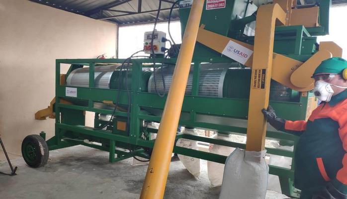 В Газахском районе Азербайджана открылось предприятие по переработке кормов