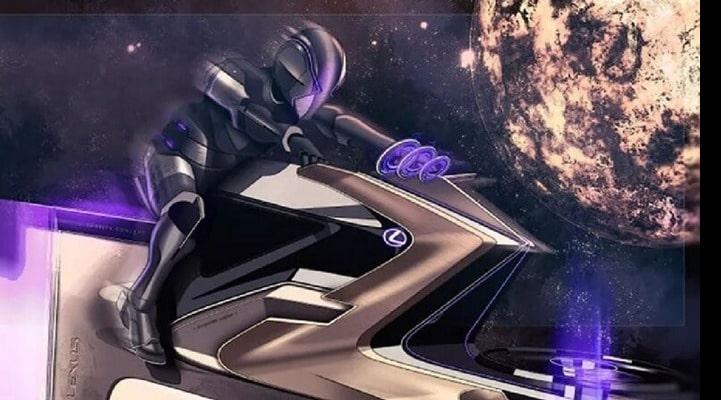 Lexus показал семь необычных транспортных средств для Луны