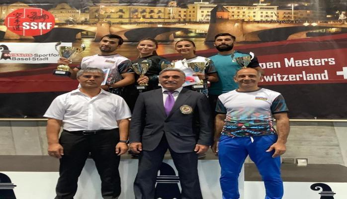 Азербайджанские каратисты завоевали на международном турнире шесть медалей