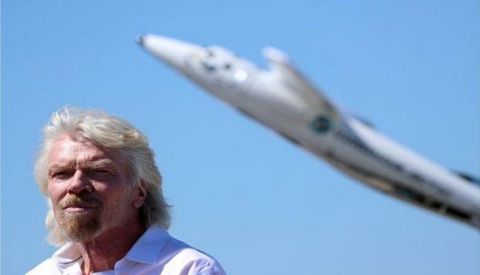 Ричард Брэнсон в 67 лет решил впервые полететь в космос