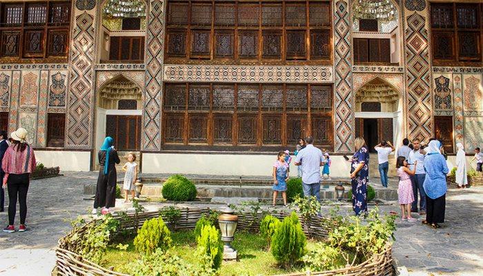 Şəki Xan Sarayında bərpa işləri aparılır, yaxın günlərdə əraziyə giriş bərpa ediləcək