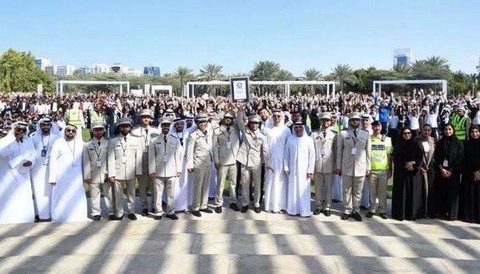 В ОАЭ установили необычный мировой рекорд