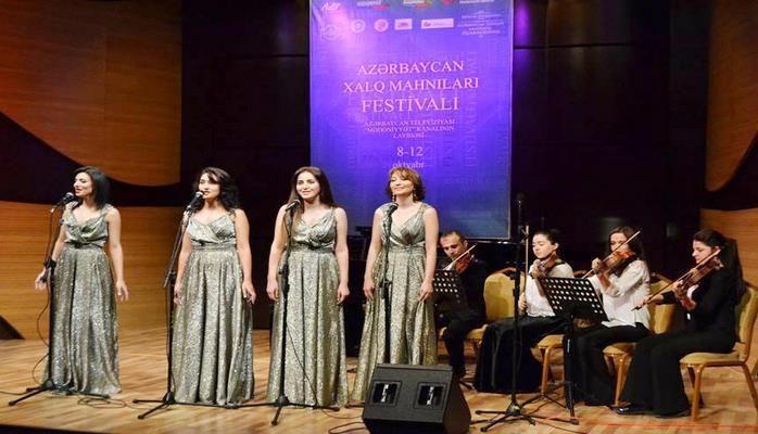 В Баку проходит Фестиваль азербайджанских народных песен