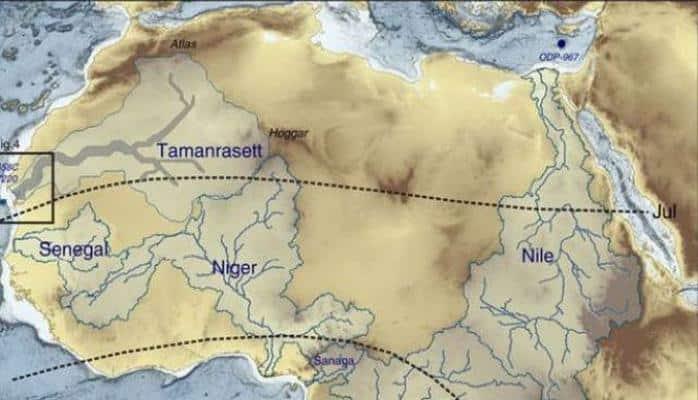 Saxara 5000 il əvvəl necə olub?