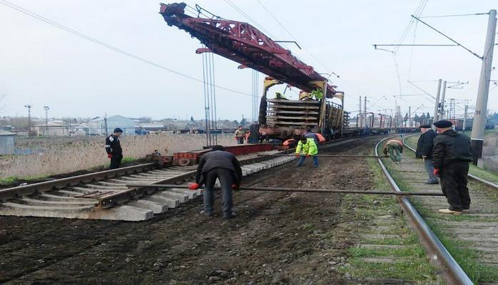 В Азербайджане на участке Джалилабад-Масаллы ведется капремонт железной дороги
