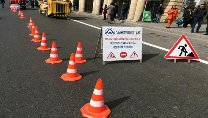 В Баку частично восстановили автодвижение после пожара в торговом центре